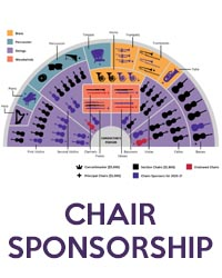 poster for Chair Sponsorship