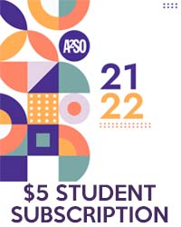 poster for $5 Student Subscription - Online Membership 2021-22